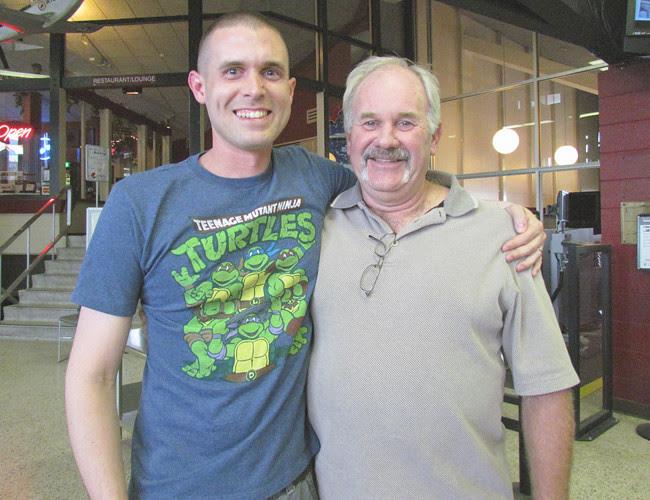 Cody & His Dad 6.15.2012