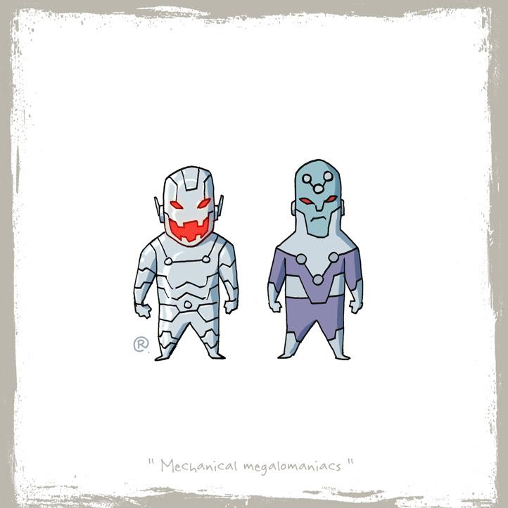 Ultron y Brainiac