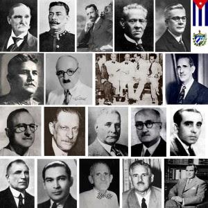 Presidentes de la República de Cuba antes de 1959