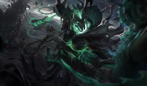 league  legends thresh  fearful reaper lol thresh