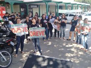 Movimento reduziu atendimento em 11 hospitais  (Foto: Divulgação/Senatepi)
