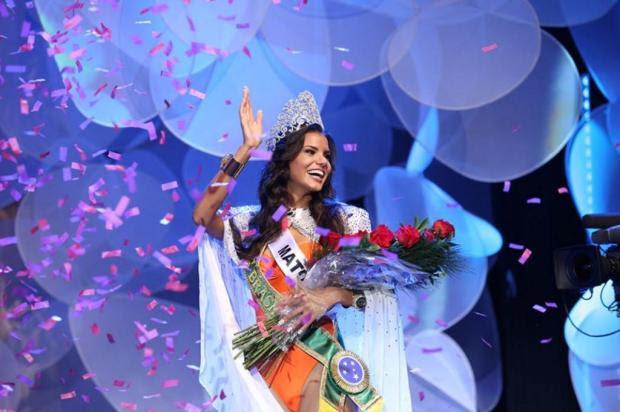 Candidata de Mato Grosso vence o Miss Brasil 2013 Carol Gherardi/Divulgação Band