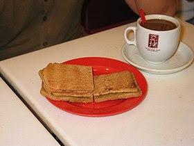 Kaya Toast and Kopi-C