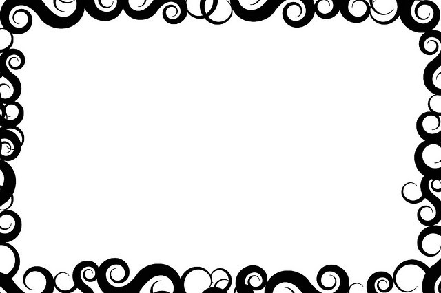 Border Design Black And White Tribal Clipartsco