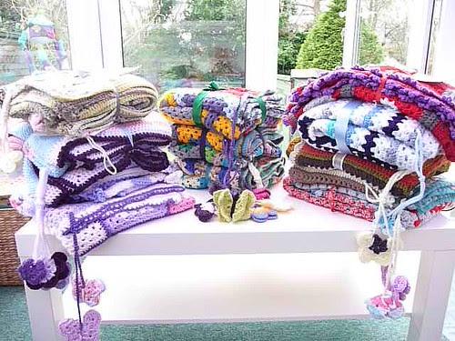 Sunshine Blankets ready for Cotteridge House, Birmingham