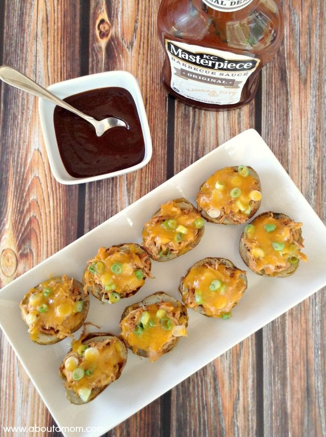 BBQ Chicken Potato Skins