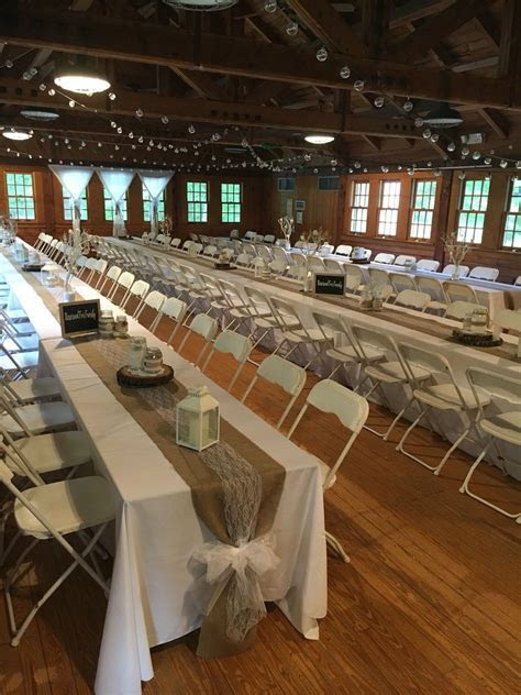 Swift Creek Dinning Hall at Pocahontas State Park   Our