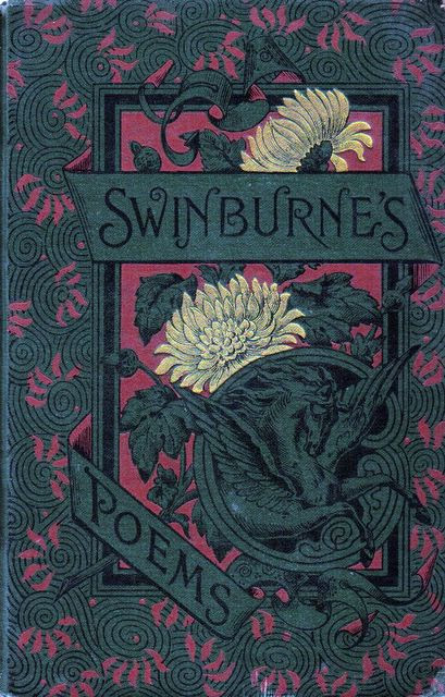 Swinburn's Poems, cover