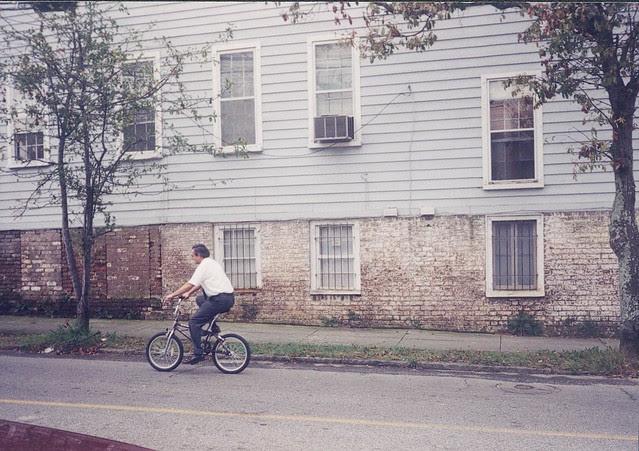 dad on bike