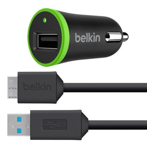 cargador Belkin, comprar cargador Belkin, cargador de coche de calidad, Belkin F8M864bt03, F8M864bt03-BLK