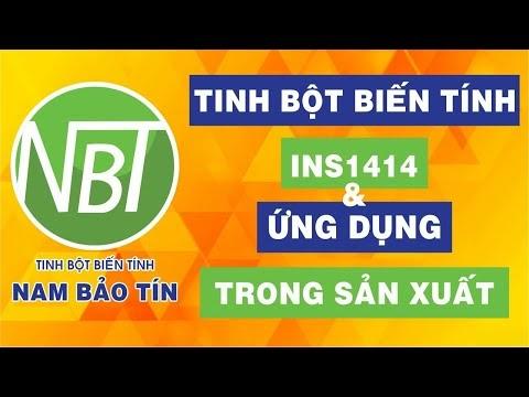 Tinh bột biến tính INS1414 & Ứng dụng trong sản xuất | Nam Bảo Tín