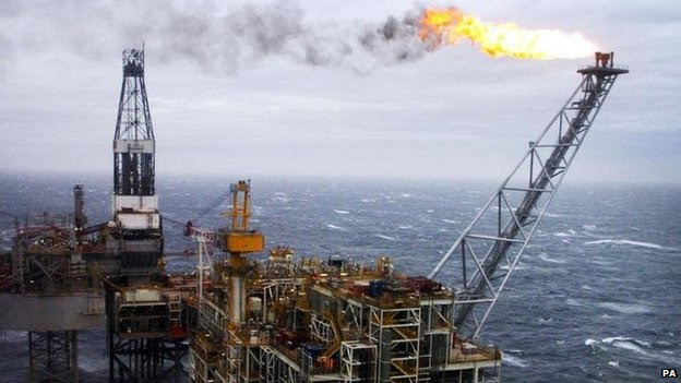#Business :Brent oil price falls below $59