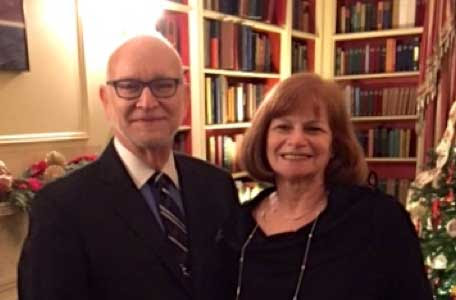 Hal and Mary Lewis at White House