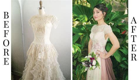 Refashioned Vintage Heirloom Wedding Dress ? Amy Nicole Studio