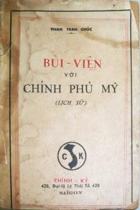 """Sách """"Bùi Viện và Chính phủ Mỹ"""" Nguồn ảnh: Chính Ký, Saigon"""