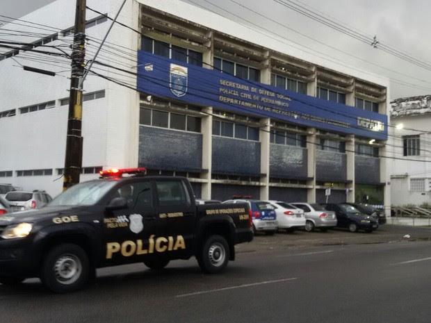 Operação Pente Fino da Polícia Civil (Foto: Danilo Tenório/ rede Globo)