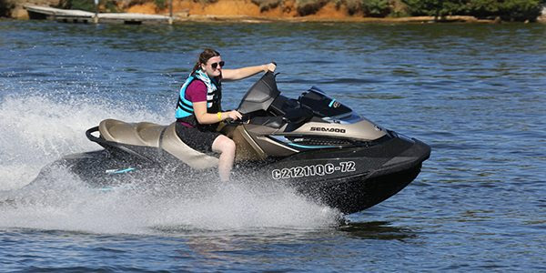 PSB Managing Editor Liz Keener spent some time on the 2016 Sea-Doo GTX Limited 300 earlier this week in Nashville. Photo by Ronny Mac.