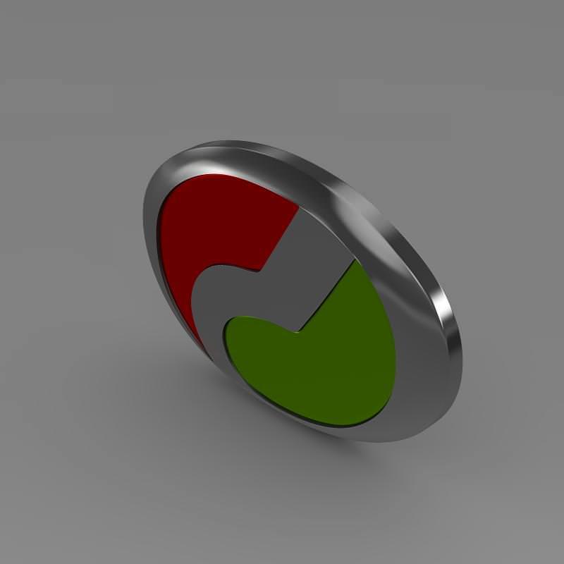Perodua Logo 3D Model .max .obj .3ds .fbx .c4d .lwo .lw