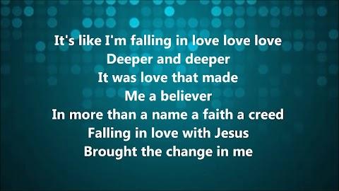 More Like Falling In Love Jason Gray Lyrics
