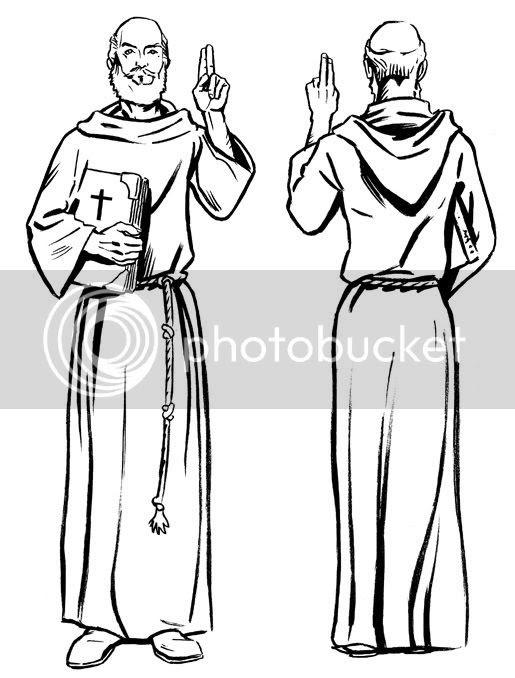 Graeme Neil Reid,Illustration,Mad Monks