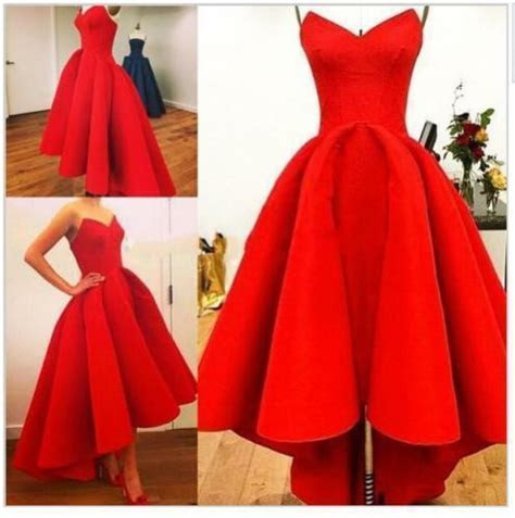 vintage   lo red party prom dresses formal wedding