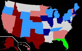 詳しくは「United States gubernatorial elections, 2010]を参照