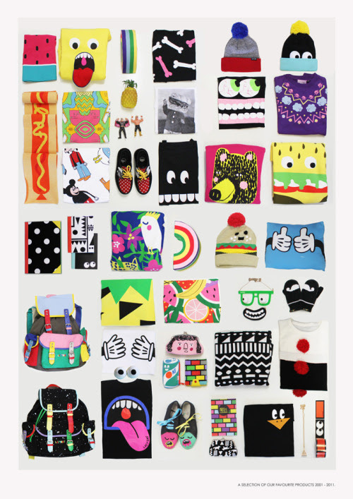 if you like Lazy Oaf the chances are you'll own at least one design on this page!