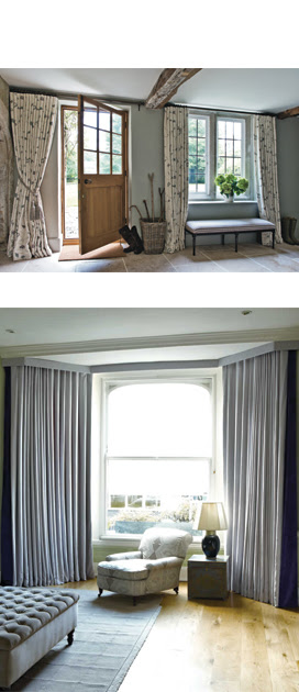 Ready Made Curtains For Wide Window And Bays The Curtain Exchange