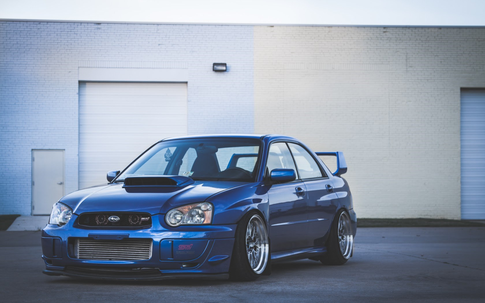Blue Subaru Impreza Wrx Sti Hd Wallpaper Opera Wallpapers