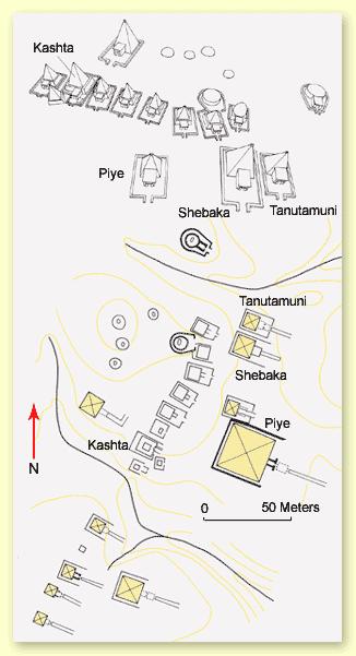 The Pyramid Field at el-Kurru