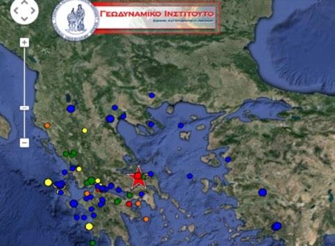 Δύο ισχυροί σεισμοί στη Χαλκίδα ταρακούνησαν την Αττική!
