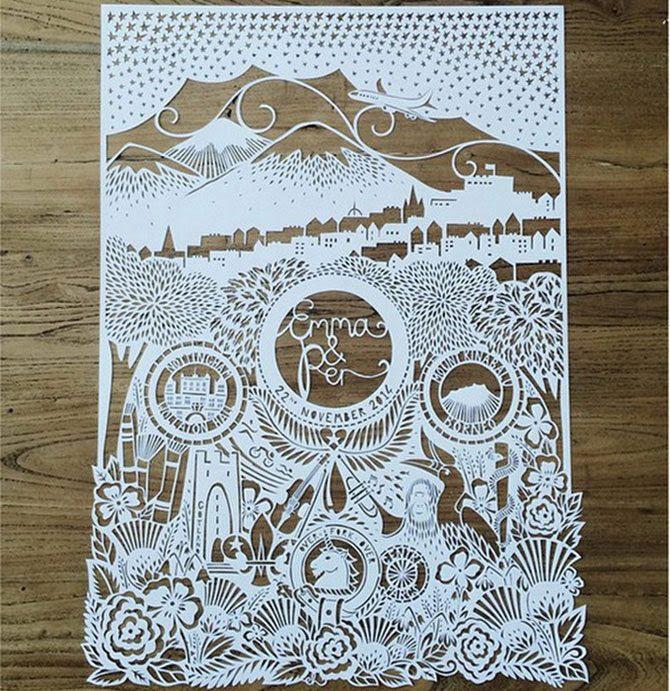 Искусство резьбы по бумаге