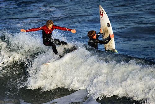 Surfing at Jan Juc, Torquay, Victoria, Australia IMG_7706_Torquay