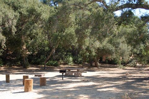 Ronald W Caspers Wilderness Park Campground