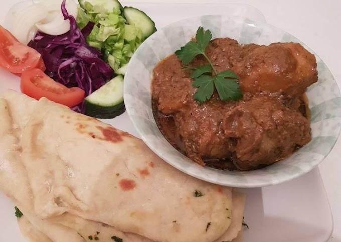 Recipe of Quick Indian Chicken Sidhi gravy sauce