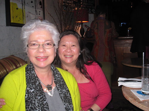 Nancy K and Rosie