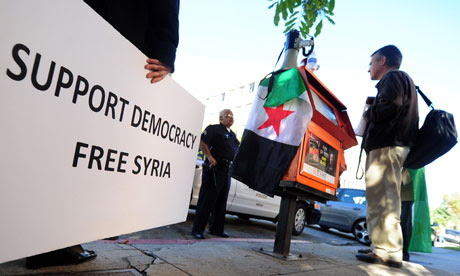Syrian protesters in Amer 007 Top 10 Countries With Strict Media Censorship