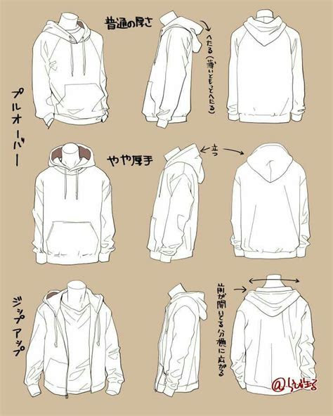 baggy jacket drawing clothes drawings drawing tips