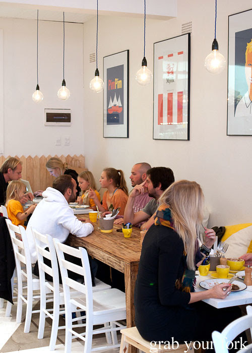 dining room at fika swedish kitchen cafe manly