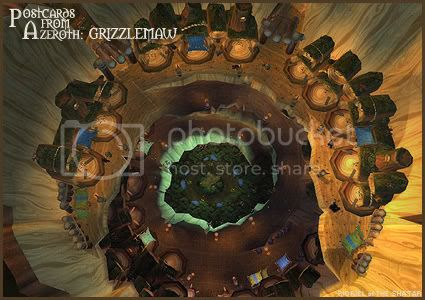 Postcards of Azeroth: Grizzlemaw