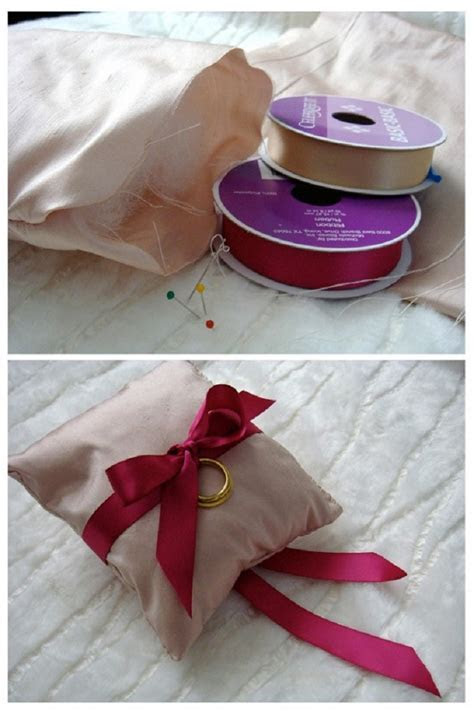 TOP 10 DIY Tutorials For Making Your Own Wedding Ring Pillows