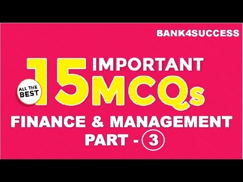 Management MCQs With Explanation for RBI Grade B Set -3 PDF Download