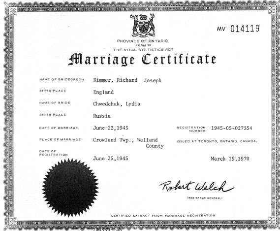Marriage certificate ontario, lookup a person's phone ...