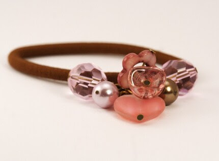 Hair Elastic - Blush Romance - Great Gift