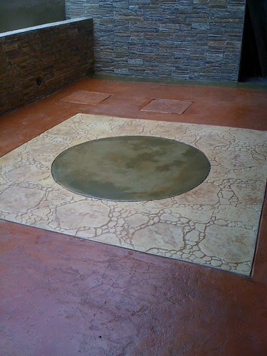 Like this outdoor floor