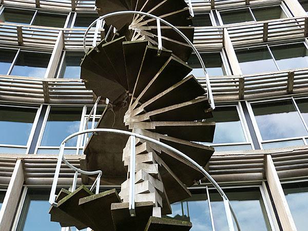 détail escalier UNESCO