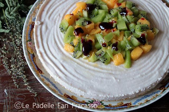 cheesecake alla ricotta e frutta mista