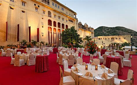 How much does a destination wedding at Samode Palace cost