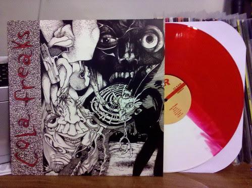 Cola Freaks - S/T LP - Red & White Split Vinyl /100