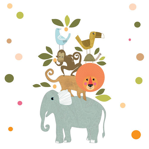 Cute work for a small child by la casa a pois